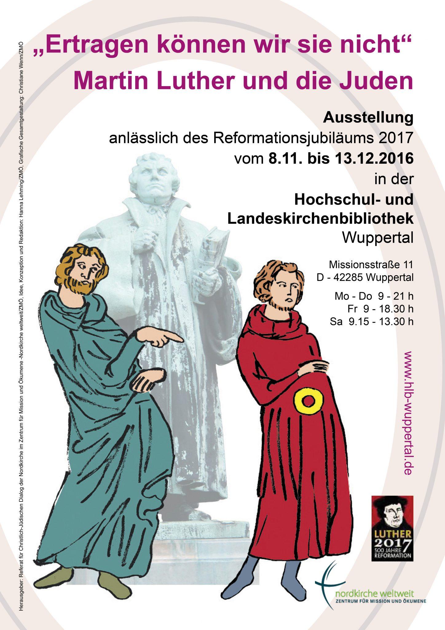 Luther Und Die Juden Plakat