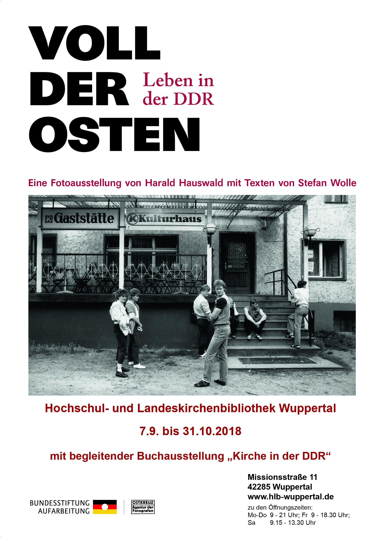 "Ausstellung ""Voll Der Osten"" – Verlängert Bis Zum 24.11.2018"