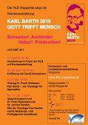 Karl-Barth-Ausstellung Des Reformierten Bundes – Nur Noch Bis Zum 17.7.