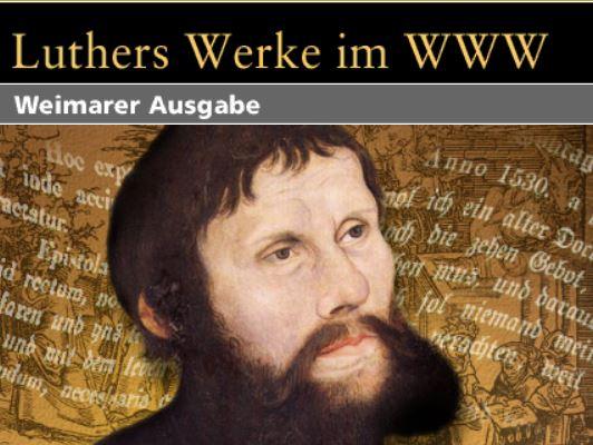 Neue Datenbank: Luthers Werke