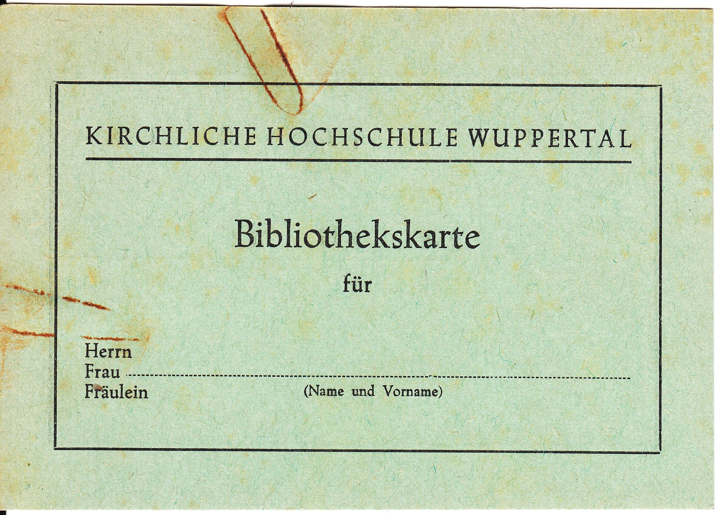 75 Jahre Geschichte Der Kirchlichen Hochschule Seit 1945